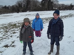 Holmsdale Manor Nursery Ibstock Snow day holiday club