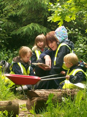 Holmsdale Manor Nursery Ibstock Forest School books